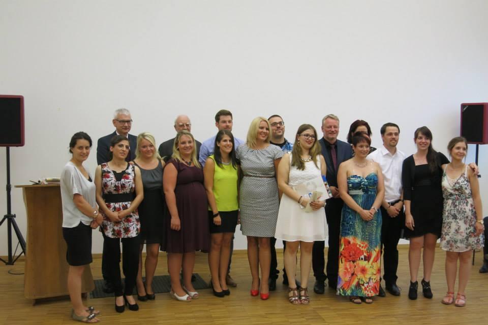 Abschlussfeier mit Diplomübergabe 2015